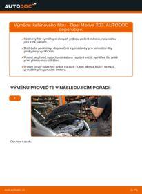 Jak provést výměnu: Kabinovy filtr na 1.7 CDTI (E75) Opel Meriva x03