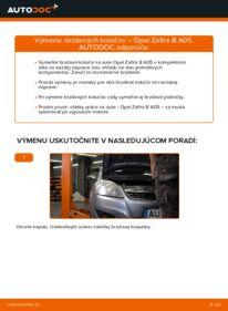 Ako vykonať výmenu: Brzdový kotouč na 1.9 CDTI (M75) Opel Zafira B