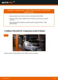 Jak provést výměnu: Lozisko kola na 1.9 CDTI (M75) Opel Zafira B