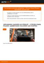 Binnenste Stuurkogel vervangen CITROËN XSARA: werkplaatshandboek
