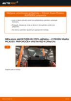 Avtomehanična priporočil za zamenjavo CITROËN Citroen Xsara Picasso 1.6 HDi Rebrasti jermen