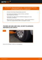 OPEL CROSSLAND X Ladeluftkühler wechseln Anleitung pdf