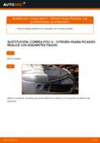Descubra nuestro detallado tutorial sobre cómo solucionar el problema de Correa de servicio CITROËN