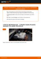 PDF guide för byta: Bromsskivor CITROËN XSARA PICASSO (N68) bak och fram