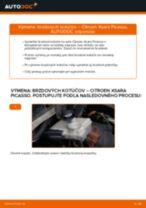 Odporúčania od automechanikov k výmene CITROËN Citroen Xsara Picasso 1.6 HDi Vzpery Kufra