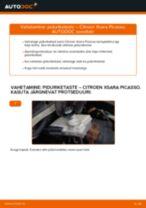 Automehaaniku soovitused, selleks et vahetada välja CITROËN Citroen Xsara Picasso 1.6 HDi Kütusefilter