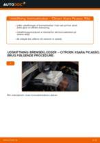 Citroen Berlingo Ladvogn reparations- og vedligeholdelsesvejledning