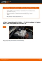 Manuell PDF om XSARA vedlikehold