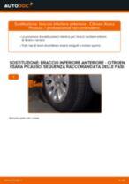 Cambio Braccetto sospensione posteriore e anteriore CITROËN da soli - manuale online pdf
