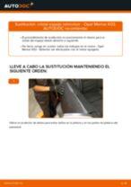 Cómo cambiar: cristal espejo retrovisor - Opel Meriva X03 | Guía de sustitución