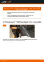 Jak wymienić szkło lusterka zewnętrznego w Opel Meriva X03 - poradnik naprawy