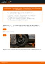 Come cambiare cuscinetto ruota della parte posteriore su Opel Meriva X03 - Guida alla sostituzione