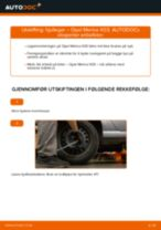 Slik bytter du hjullager bak på en Opel Meriva X03 – veiledning