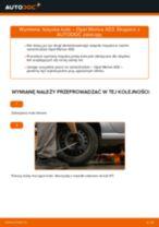 Jak wymienić łożysko koła tył w Opel Meriva X03 - poradnik naprawy