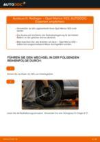 Radlager wechseln OPEL MERIVA: Werkstatthandbuch