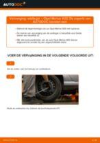 Hoe wiellager achteraan vervangen bij een Opel Meriva X03 – vervangingshandleiding