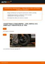 Udskift støddæmper bag - Opel Meriva X03 | Brugeranvisning