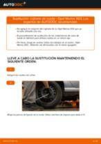 Cómo cambiar: cojinete de rueda de la parte trasera - Opel Meriva X03 | Guía de sustitución