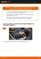 Tutorial paso a paso en PDF sobre el cambio de Pastillas De Freno en OPEL MERIVA
