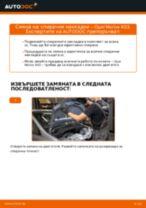 Онлайн ръководство за смяна на Комплект накладки в OPEL MERIVA