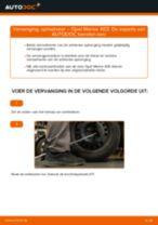 Axiaal gewricht veranderen OPEL MERIVA: gratis pdf