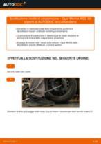 Come cambiare molle di sospensione della parte posteriore su Opel Meriva X03 - Guida alla sostituzione