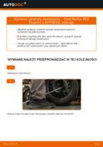 Jak wymienić sprężyny zawieszenia tył w Opel Meriva X03 - poradnik naprawy