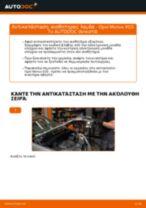 Πώς να αλλάξετε αισθητηρας λαμδα σε Opel Meriva X03 - Οδηγίες αντικατάστασης