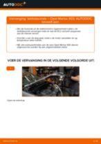 Hoe lambdasonde vervangen bij een Opel Meriva X03 – vervangingshandleiding