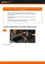 OPEL ADAM reparations- og vedligeholdelsesvejledning