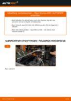 Instruksjonsbok OPEL MERIVA
