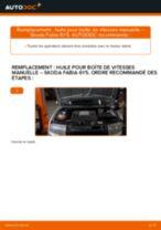 PDF manuel sur la maintenance de FABIA