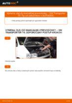 Návod na obsluhu VW TRANSPORTER - Manuál PDF