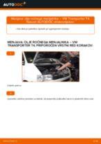 VW T5 Keson navodila za popravilo in vzdrževanje