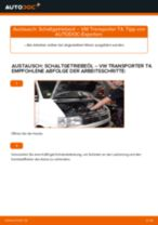 Montage Glühkerzen VW TRANSPORTER IV Bus (70XB, 70XC, 7DB, 7DW) - Schritt für Schritt Anleitung