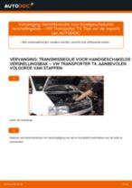 Hoe transmissieolie voor handgeschakelde versnellingsbak vervangen bij een VW Transporter T4 – Leidraad voor bij het vervangen