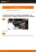 Slik bytter du girolje til manuelle girkasser på en VW Transporter T4 – veiledning