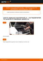 VW T3 Transporter korjaus- ja huolto-opas
