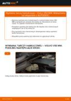 Montaż Tarcze hamulcowe VOLVO V50 (MW) - przewodnik krok po kroku