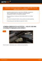 Krok za krokom příručka na opravu VOLVO V50