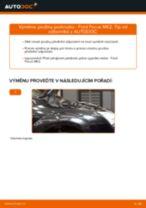 Výměna: přední pružiny podvozku >> Ford Focus MK2 | Návod