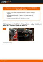 Brezplačna spletna navodila kako obnoviti Kabli za svečke VOLVO V50 (MW)