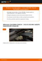 Avtomehanična priporočil za zamenjavo VOLVO Volvo v50 mw 1.6 D Amortizer Pokrova Prtljažnika