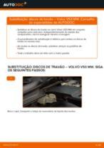 Manual online sobre a substituição de Braço transversal longitudinal oblíquo em Toyota Avensis T22 Sedan