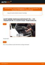 VW TRANSPORTER juhend