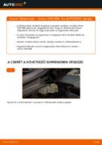 VOLVO V50 (MW) Axiális Csukló Vezetőkar beszerelése - lépésről-lépésre útmutató