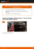 Automehāniķu ieteikumi VOLVO Volvo v50 mw 1.6 D Gaisa filtrs nomaiņai