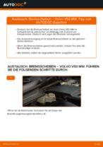 VOLVO V50 (MW) Scheibenbremsen wechseln: Handbuch online kostenlos