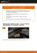 Remschijven vervangen: pdf instructies voor VOLVO V50