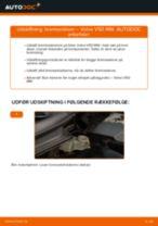 Online gratis instruktioner hvordan skifter man Bremseskiver VOLVO V50 (MW)